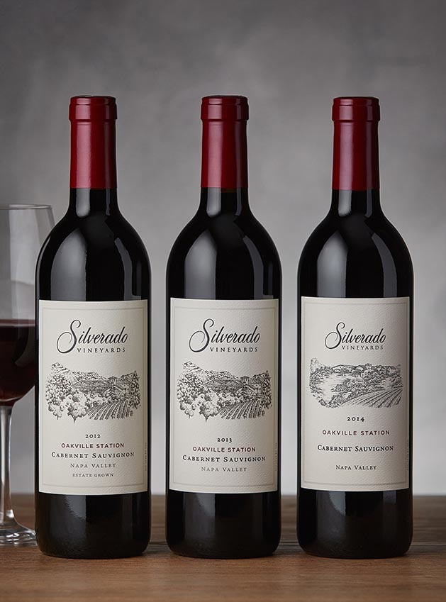 Oakville Station Cabernet Sauvignon Vertical Collection