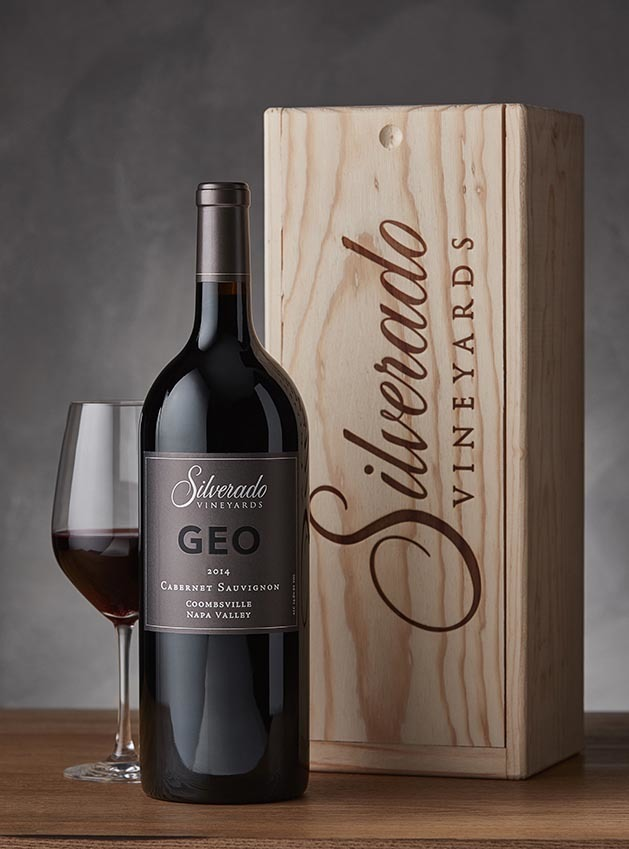 GEO Cabernet Saugivnon Magnum with Wood Box