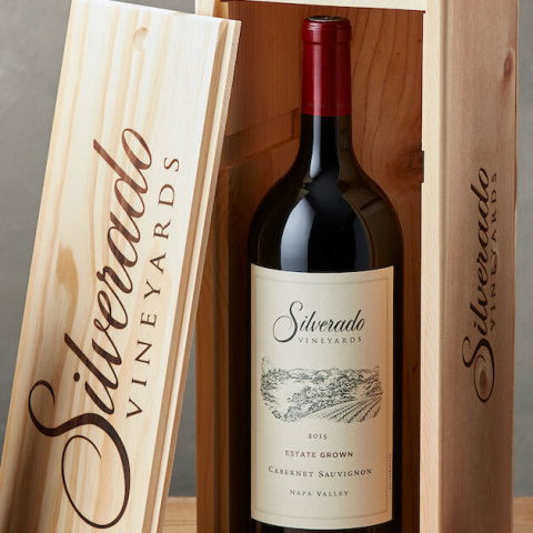 Estate Cabernet Saugivnon Magnum with Wood Box